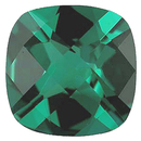 Imitation Emerald Antique Square Cut Checkerboard Gems