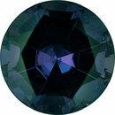 Stunning Alexandrite Loose Gem in Round Cut, Medium Green Blue to Vivid Pink Purple, 5.9 mm, 0.94 Carats