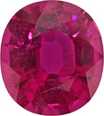 Rare Rubelite Tourmaline Gem, No Treatment Top Quality Mozambique Gem, 14.1 x 12.7 mm, 8.88 carats