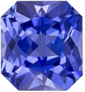 So Pretty Rich Blue Unheated GIA Sapphire Gem in Radiant Cut, 6.82 x 6.17 x 4.23 mm, 1.69 carats