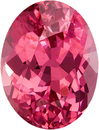 Pink Spinel Loose Gem from Tanzania in Oval Cut, Rich Pink Color in 6.9 x 5.3 mm, 1.13 Carats