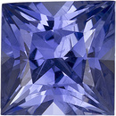 Unique Cornflower Blue Ceylon Sapphire - Hard to Find, 7.8 x 7.7 mm, Princess Cut, 3.15 carats - SOLD