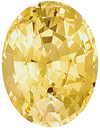Fine Clarity and Brilliance, Beautiful Yellow Sapphire Gemstone for SALE, Oval Cut, 5.56 carats - SOLD