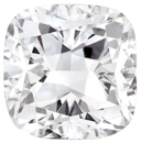 Faceted Diamond Melee, Cushion Shape, G-H Color - SI2-SI3 Clarity, 3.30 x 3.30 mm in Size, 0.19 Carats