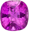 AGL Certified Pink Sapphire Stone from Ceylon for SALE! Best Loose Unheated Gemstone, Cushion Cut, 1.48 carats - SOLD