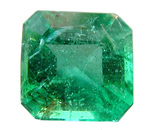 Square Emerald Cut Emerald Gemstone 0.63 carats