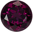 Classic Unheated Rhodolite Gemstone for SALE! From East Africa - Amazing Value! Round Cut, 8.22 carats