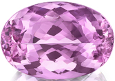 Exceptional Pink Topaz Gemstone in Oval Cut, Rare Size and Fine Color 19.83 x 13.63 mm, 19.62 carats with GIA Certificate