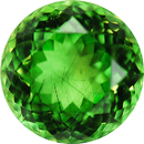 Low Price on Rare Color in Exceptional Genuine Mint Peridot, 14mm, 13.85 carats