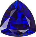 Royal Blue Kancha Sapphire - Even Color & Great Clarity, 8 mm, Trillion Cut, 1.98 carats