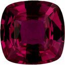 Bright & Lively Antique Square Cut Loose Ruby Gem,  Red Color, 6.03 x 6.01 mm, 1.21 carats