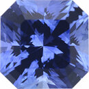 Deal On Sapphire Loose Gem in Asscher Cut, Medium Blue Violet, 5.94 x 5.90  mm, 1.28 Carats
