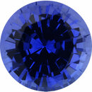 Deal On Sapphire Loose Gem in Round Cut,, 7 mm, 1.72 Carats
