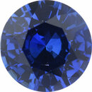 Low Price On Sapphire Loose Gem in Round Cut, Medium Violet Blue, 6.51 mm, 1.14 Carats