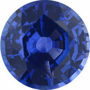 Super Deal On Sapphire Loose Gem in Round Cut, Vibrant Violet Blue, 6.05 mm, 1.04 Carats