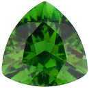 GREEN TOURMALINE Trillion Cut Gems  - Calibrated
