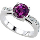 Ultimate Solitaire Alexandrite Engagement Ring With Genuine 2 carat GEM  Alexandrite 7.50 mm Round Gem
