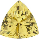 YELLOW SAPPHIRE Trillion Cut Gems  - Calibrated