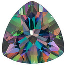 MYSTIC GREEN TOPAZ Trillion Cut Gems  - Calibrated