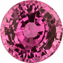 Pretty Sapphire Loose Gem in Round Cut, Light Purple Pink, 5.57 mm, 1.08 Carats