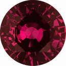 Top Gem Sapphire Loose Gem in Round Cut, Medium Red Purple, 5.9 mm, 0.87 Carats