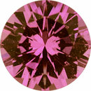 Super Pretty Sapphire Loose Gem in Round Cut, Medium Red Purple, 5.88 mm, 0.85 Carats