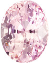 2 Carat Unheated GIA Certified Padparadscha Sapphire Loose Gem in Oval Cut, Vivid Pink Orange, 8.2 x 6.3 mm, 2.05 carats