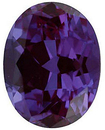 Grade GEM CHATHAM CREATED ALEXANDRITE Oval Cut Gems  - Calibrated