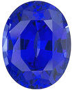 Grade GEM CHATHAM CREATED BLUE SAPPHIRE Oval Cut Gems