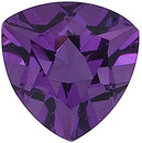 Grade AA - Trillion Genuine Amethyst 3.50 mm to 10.00 mm