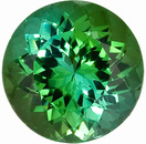 Exceptionally Lively! Majestic Blue Green Tourmaline Genuine Real High Quality Gemstone, 11mm Round Cut, 5.62 carats