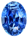 Very Clean, Beautifully Cut, AGTA Cert, Unheated Blue Ceylon Sapphire Gem stone, Oval Cut, 3.03 carats