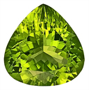 Mesmerizing Peridot Natural Gemstone Great Find! Pear Shape,16.3 x 15.8 mm, 12.34 carats