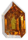 Fancy Brownish Orangy Yellow 1.61 carats