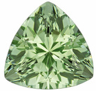 Incredible Unheated Green Tourmaline 8.20mm Size - Sure to Shine in Any Jewelry, Trillion Cut, 1.82 carats