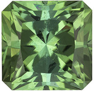 Special Minty Green Colored  No Heat Afghanistan Green Tourmaline - Sharp Looking Stone, Radiant Cut, 2.24 carats