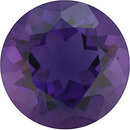 ,  Genuine Purple Amethyst Gemstone in Round Shape, Grade AAA 2.555 carats, 9.00 mm in Size, 2.56 carats