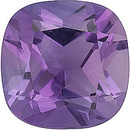 Beautiful Genuine Loose Amethyst Gemstone in Antique Square Shape, Grade A, 5.00 mm in Size, 0.5 carats