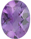 Quality Amethyst Stone, Oval Shape Checkerboard, Grade AA, 12.00 x 10.00 mm Size, 4 carats