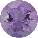 Round Shape Genuine Amethyst Loose  Gemstone   Grade B 0.74 carats,  6.00 mm in Size