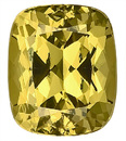 Spectacular Yellow Grossular Garnet Unheated Gemstone Best Price, antique cushion Cut, 9.5 x 8.2 mm, 4.05 carats