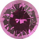 Bargain Priced  Unheated Sapphire Loose Gem in Round Cut, Vibrant Purple Pink, 7.49 mm, 1.9 Carats