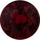 Very Fine Ruby Loose Gem in Round Cut, Vibrant Red, 5.73 mm, 1.11 Carats