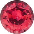Grade GEM CHATHAM CREATED PADPARADSCHA SAPPHIRE Round Cut Gems  - Calibrated