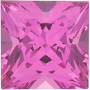 Grade GEM PINK SPINEL Princess Cut - Calibrated