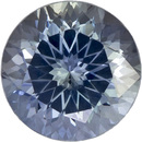 Bright & Lively Round Cut Blue Green Sapphire Loose Gem, Medium Blue Green, 6.5 mm, 1.46 carats - SOLD