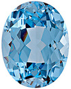 Grade GEM CHATHAM CREATED AQUA BLUE SPINEL Oval Cut Gems  - Calibrated