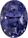 Beautiful Gem Blue Violet Spinel Loose Oval Cut Gem, Rich Violet Blue, 9.5 x 7.1 mm, 3.07 carats