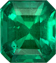 Collector GIA Certified Emerald Gemstone in Vivid Green Color, Special Gem, 13.3 x 11.8 mm, 7.90 carats
