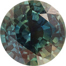 Deal on Vivid Green Blue Sapphire No Heat AGL Certified Round Cut, 7.0 mm, 1.47 carats